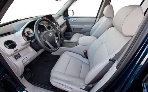 """""""So the Pilot is a comfortable and flexible midsize SUV. The interior is built with nice materials, there are plenty of storage compartments in the massive center console and the seats are supportive and good over the long haul."""" - Road Test Editor Jonathan Wong"""