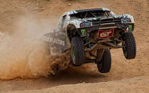 BJ Baldwin at the 2011 General Tire Mint 400.