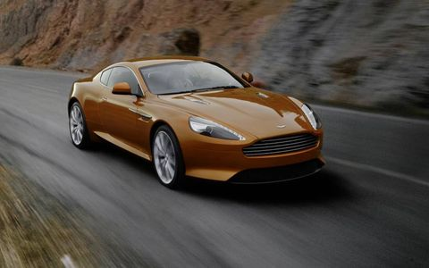 The 2012 Aston Martin Virage