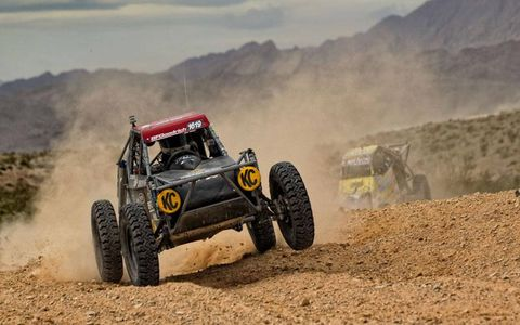 Justin Bean Smith at the 2011 General Tire Mint 400.