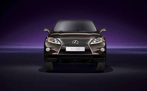 The 2013 Lexus RX350 F Sport is equipped with a 3.5-liter V6 that produces 270 hp with 248 lb-ft of torque.