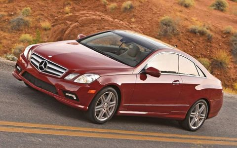 Driver's Log: 2010 Mercedes-Benz E550 Coupe