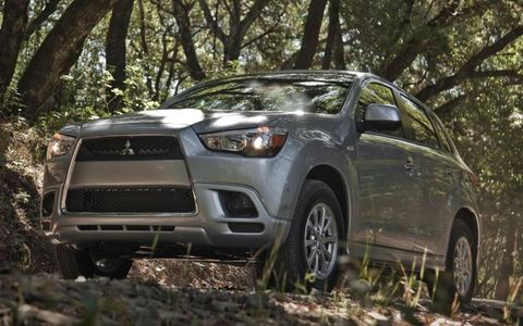 The 2011 Mitsubishi Outlander Sport ES