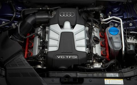 The heart of the 2013 Audi S5 coupe is a turbocharged 3.0-liter 333-hp V6 engine.