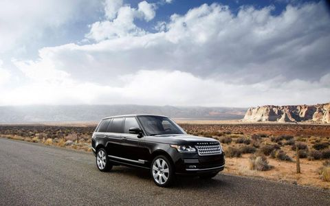 This is only the fourth time the Range Rover has been redesign since its debut more than 40 years ago.