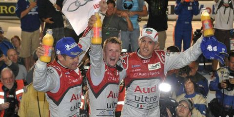 Audi captured its 10th 12 Hours of Sebring win on Saturday.