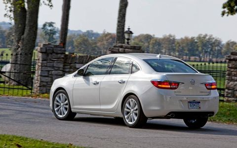 We like the styling of the 2013 Buick Verano Turbo.