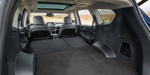 The 2019 Hyundai Santa Fe is available in five trims: SE, SEL, SEL Plus, Limited and Ultimate.