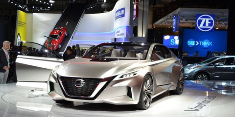 Nissan Vmotion concept.