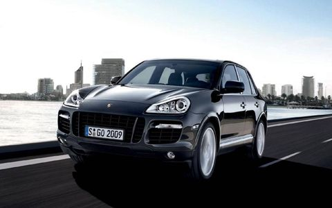 The Porsche Cayenne Turbo