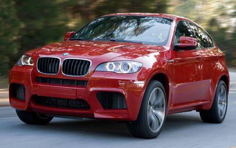 The BMW X6 M