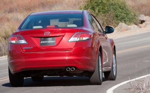 """""""I find that the Mazda 6's styling is still easy on the eyes even though it's a few years old."""" - Autoweek.com Editor Dale Jewett"""