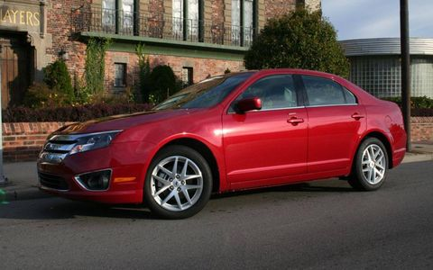 Driver's Log: 2010 Ford Fusion SEL