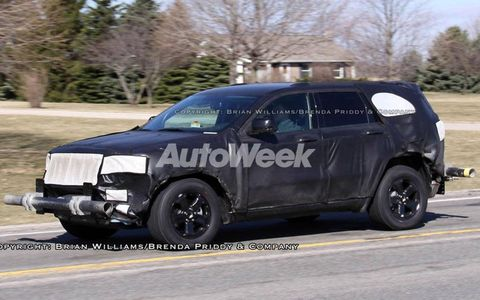 Spied: 2010 Jeep Grand Cherokee