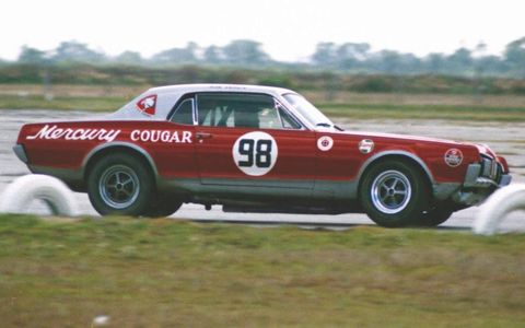 Team Cougar had a respectable showing in the 1967 SCCA Trans-Am Series.