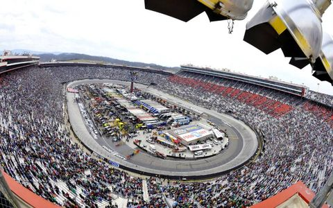 There were more empty seats than usual for last week's race at Bristol Motor Speedway, but the fans in attendance were treated to a great race.