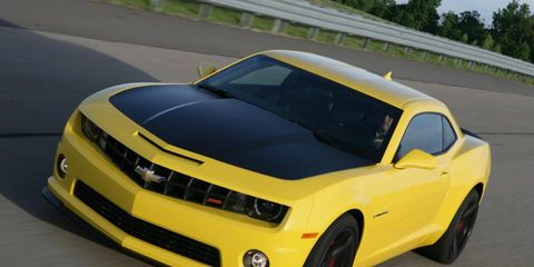 The 2013 Chevrolet Camaro 1LE offers a track-tuned suspension, 3.91 ratio axle, 20-inch forged aluminum wheels and a flat-bottomed steering wheel.