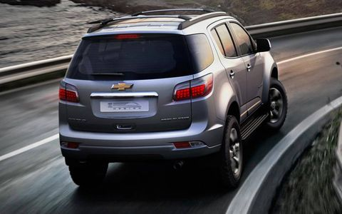 The Chevrolet Trailblazer is equipped with diesel engines.