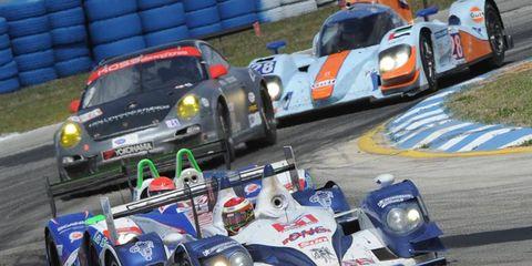 2012 SEBRING- #21 Strakka Racing HPD ARX-03a-Honda