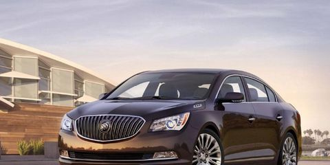 The 2014 Buick LaCrosse goes on sale this summer.