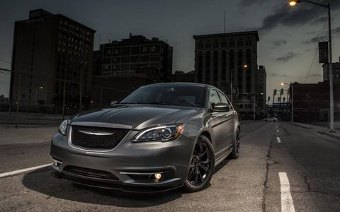 Chrysler partnered with Carhartt to develop a more menacing-looking 200.