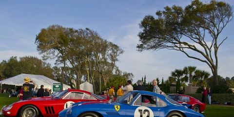 This year marks the 50th anniversary of the Ferrari GTO.