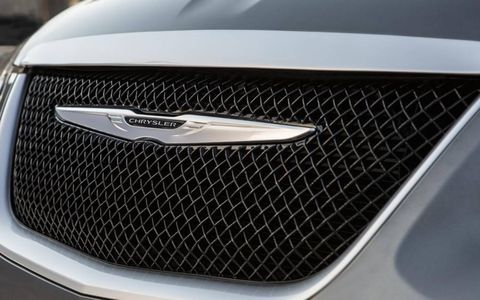 The grille features black mesh and a chrome surround.