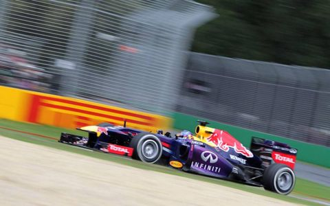Sebastian Vettel, Red Bull RB9 Renault. Photo by: LAT Photographic