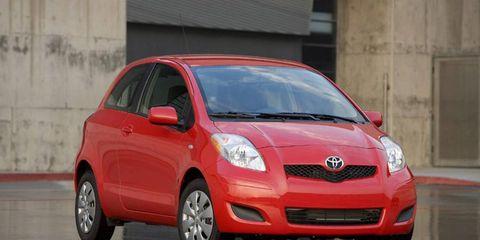 2011 Toyota Yaris 3-door liftback