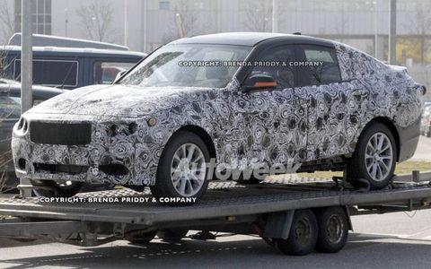 Spy photos: BMW 3-series GT