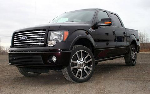 Driver's Log Gallery: 2010 Ford F-150 Harley Davidson