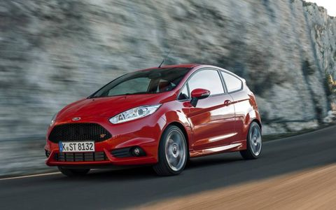 The 2014 Ford Fiesta ST borders practicality with the addition of a sports-car feel.