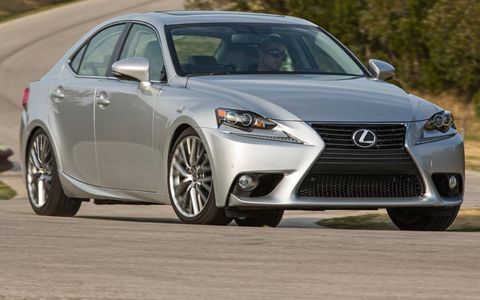 The redesigned 2014 Lexus IS sedan will challenge the likes of the BMW 3-series and Acura TL.