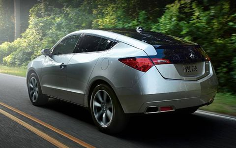 The 2013 Acura ZDX will be discontinued after having run for four years.