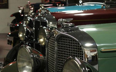 John McMullen started his automotive collection in 1988 with six cars.  124 cars and seven garages later, McMullen's finally weeding through his collection and placing the majority up for auction.
