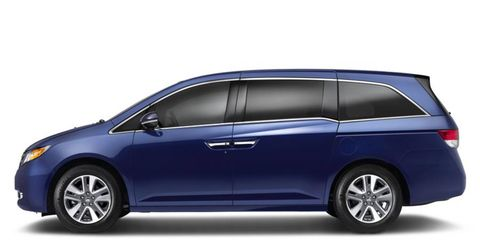 The 2014 Honda Odyssey is expected to reach dealerships this summer.
