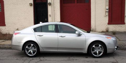 Driver's Log Gallery: 2010 Acura TL SH-AWD