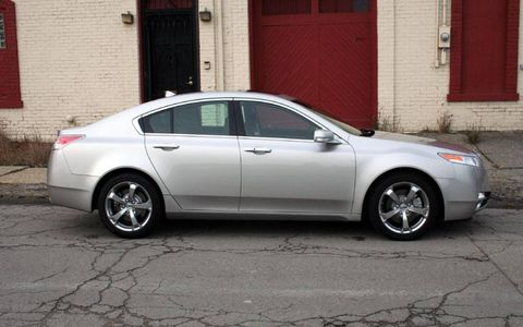 Driver's Log Gallery: 2010 Acura TL SH-AWD