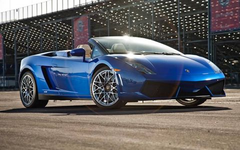 The LP 550-2 Spyder is like the muscle car of Italian supercars.