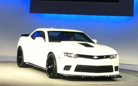 The Z/28 is street legal but is designed for racetrack duty.