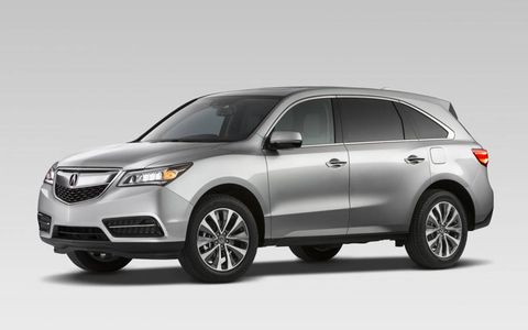 The new Acura SUV gets massaged sheetmetal, new safety and technology features and, for the first time, a front-wheel-drive verson.