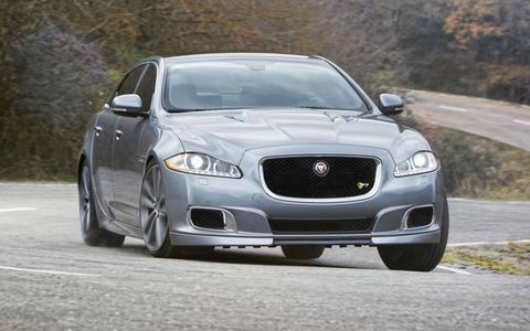 The XJR  travels from zero to 60 mph in 4.4 seconds and acceleration is electronically limited to 174 mph.