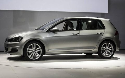 The 2015 Volkswagen Golf, live from New York.
