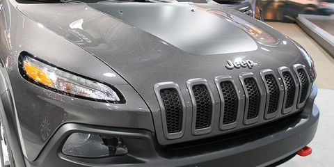 The clipped grille of the new 2014 Jeep Cherokee has been controversial.