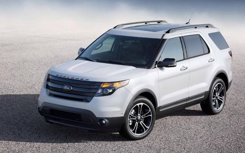 Additional options for the 2013 Ford Explorer Sport include blindspot monitoring system, adjustable steering wheel, voice activated navigation and much more.