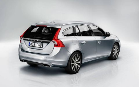 The redesigned V60 went on sale two years ago in Europe, replacing the aging V50 station wagon.
