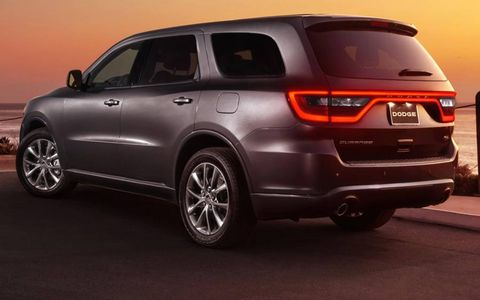 The 2014 Dodge Durango gets a new taillight treatment.