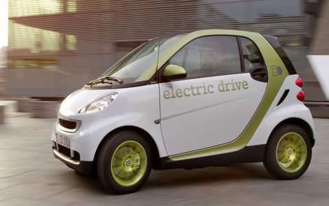 The Smart Fortwo ED Passion