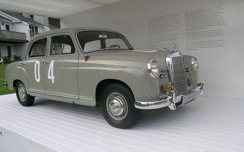 1955 Mercedes-Benz 180D