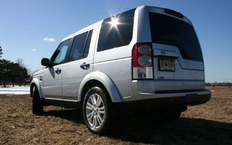 Driver's Log Gallery: 2010 Land Rover LR4